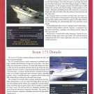 2001 Albemarle 247 & Scout 175 Dorado New Boats Ad- Specs & Photo