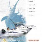 2001 Pro- Line 27 Walk Boat Color Ad- Nice Photo