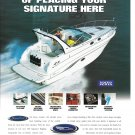 2001 Chaparral 350 Signature Yacht Color Ad- Nice Photo