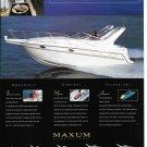 1998 Maxum Sun Cruisers Color Ad- Nice Photo