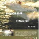 2001 Sport- Craft 261 Walkaround Boat Color Ad- Nice Photo