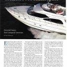 1998 Cruisers 5000 Sedan Sport Yacht Review- Nice Photos & Specs