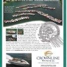 2001 Crownline Boats Color Ad- Nice Photo Table Rock Lake Rally