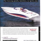 2000 Powerquest 380 Avenger Boat Color Ad- Nice Photo