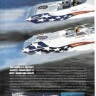 2000 Fountain Powerboats 2 Pg Color Ad-Nice Photo of 38 Fever & 42 Lightning