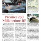 2000 Premier 250 Millennium RE Pontoon Boat Review-Specs & Photo
