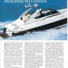 2000 McKinna 60 Express Yacht Review- Nice Photos & Specs