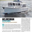 2012 Helmsman 38 Pilothouse Yacht Review- Nice Photos & Specs