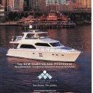 2012 Hampton 620 Pilothouse Yacht Color Ad- Nice Photo