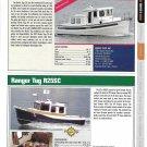 2012 Nordic Tug 26 & Ranger Tug R25SC New Boats Ad- Photo & Specs