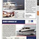 2012 Swift Trawler 52 & Kadey- Krogen 52 New Boats Ad- Photo & Specs