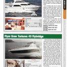 2012 Hampton H620 & Flyer Gran Turismo 49 New Yachts Ad- Photo & Specs
