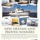 2012 Kadey- Krogen Yachts Color Ad- Nice Photo of 9 Models