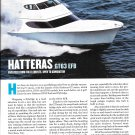 2012 Hatteras GT63 EFB Yacht Review- Nice Photos & Specs