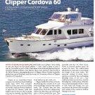 2011 Clipper Cordova 60 Yacht Review- Nice Photos & Specs