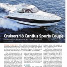2011 Cruisers 48 Cantius Sports Coupe Yacht Review- Nice Photos & Specs