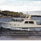 2011 Offshore Pilothouse 62 Yacht Color Ad- Great Photo