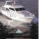 2011 Hampton 580 Pilothouse Yacht Color Ad- Great Photo