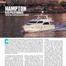 2013 Hampton 620 Pilothouse Yacht Review- Nice Photos & Specs