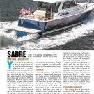 2013 Sabre 38 Salon Express Yacht Review- Nice Photos & Specs
