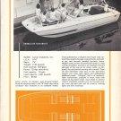 1969 Larson 18' Shark Fiberglass Runabout Boat Ad- Nice Photo & Specs