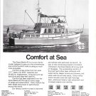 1974 American Marine LTD Grand Banks 42 Yacht Ad- Nice Photo