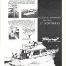 1974 Tollycraft 37' Sportfisher Yacht Ad- Nice Photo