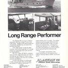 1974 American Marine LTD Alaskan 55 Yacht Ad- Nice Photos
