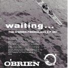 1972 O'Brien E.P. Fiberglass Water Skis Ad- Nice Photo