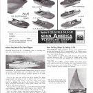 1960 Span America Pleasure Craft Boats Ad- Photo of 7 Models