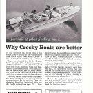 1960 Crosby Boats Ad- Nice Photo