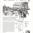 1960 Oliver 35 HP. Outboard Motor Ad- Nice Drawing