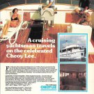 1978 Cheoy Lee Trawler 62 Color Ad- Nice Photos