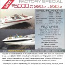 2007 Stingray 230LX and 220LX Boats Color Ad- Photo & Specs