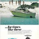 1975 Sea Ray Boat Color Ad- Nice Photo