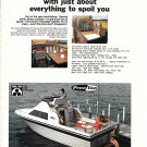 1975 Penn Yan 24' Deluxe Cruiser/ Flybridge Yacht Color Ad- Nice Photo