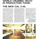 1973 Jensen Marine Cal 2-46 Yacht Color Ad- Photos