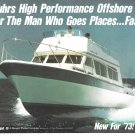 1973 Luhrs Offshore 360 Yacht Color Ad- Great Photo