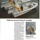 1972 Wellcraft Marine Corp Color Ad- Nice Photo of of V-17 & V-20