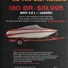 2007 Crownline Boats 2 Pg Color Ad- Nice Photos of 180 BR