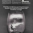 1969 Seagoing Houseboat Ad- Photo