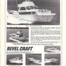 1969 Revline Boats Ad- Photos of 6 Models