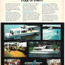 Old Kings Craft Houseboats Color Ad- Nice Photos