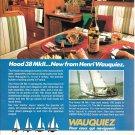 1983 Wauquiez Hood 38 MkII Yacht Color Ad- Nice Photos