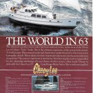 1983 Cheoy Lee 63' Motor Yacht Color Ad- Nice Photo