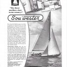 1949 Henry Hinckley Sou' Wester Yacht Ad- Nice Photo