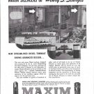 "1944 Maxim Silencers Ad- Photos of Towboat ""Henry S. Sturgis""ddddd"