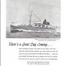 1944 Matthews 50' Sport Sedan Boat Ad- Nice Photo