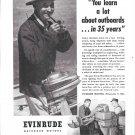 1945 Evinrude Outboard Motors Ad- Nice Photos