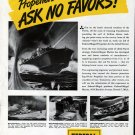 1943 WW II Federal Mogul- Drawing of PT Boat